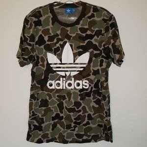 Addidas Camo Tshirt